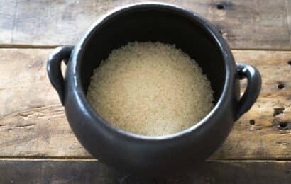 お釜とお米