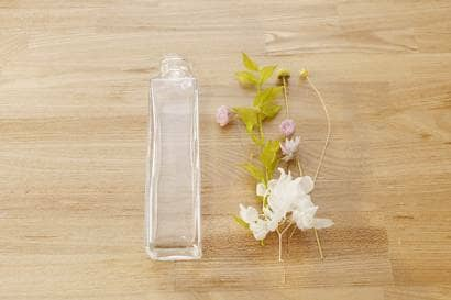 花材の配置のシュミレーション