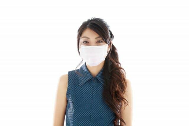日焼け対策マスク