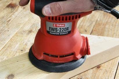 E-Value ランダムサンダー 125mm EWS-220R