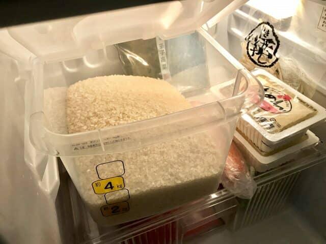 冷蔵庫用米びつ