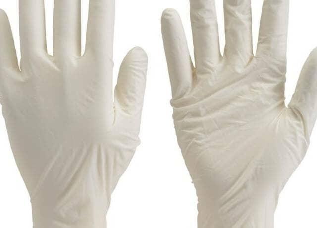 使い捨て極薄手袋