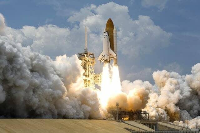 ロケットの発射