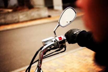 バイクのハンドル