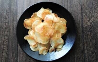 菊芋チップスのレシピ