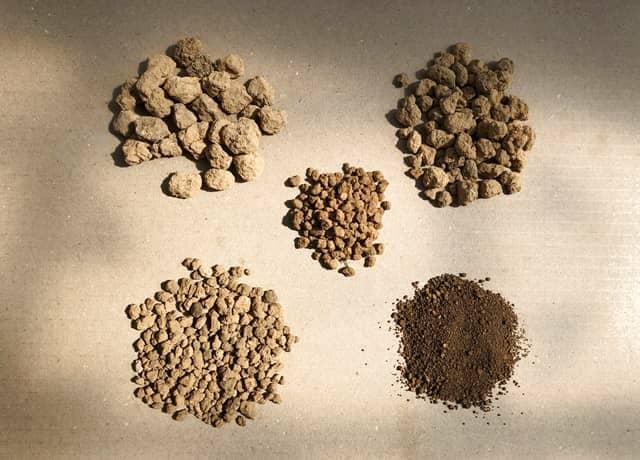 赤玉土5種類