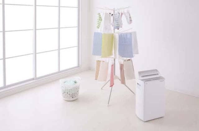 衣類乾燥機付きの除湿機