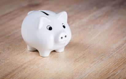 豚の貯金箱は価格が安い