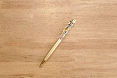 ハーバリウムボールペンの完成形