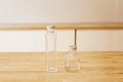 ハーバリウム用の瓶