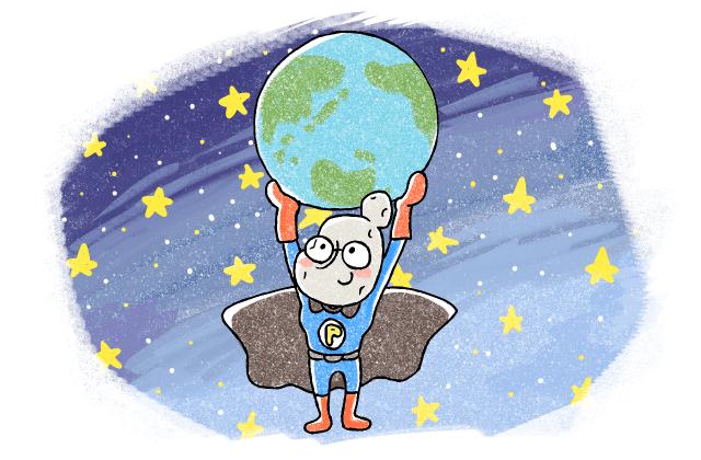 世界を支えるスーパーウーマン、じゃがいもさん
