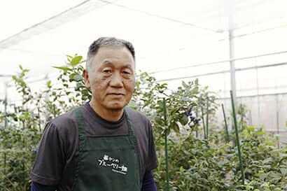 農園オーナーの松村さん