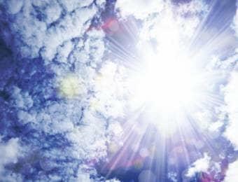 真夏の太陽