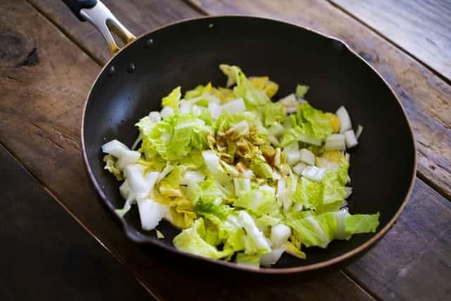 白菜の調理