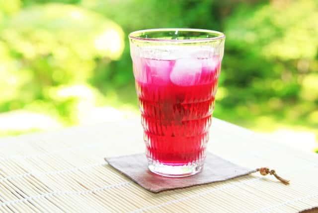 赤紫蘇のジュース