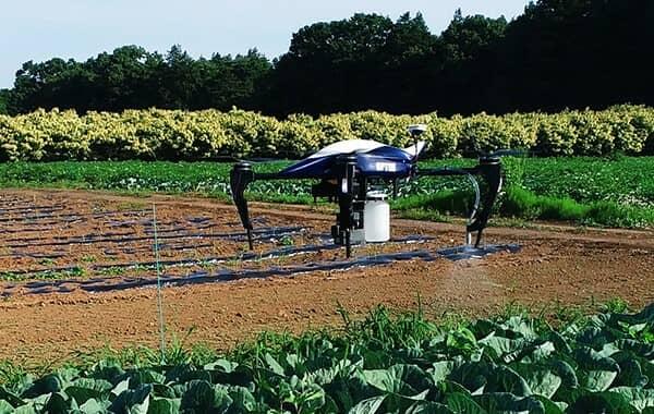 オプティム農薬散布テクノロジー