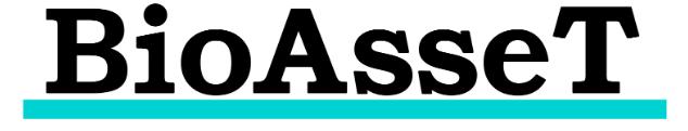 """豚熱(CSF)感染予防・対策BIツール""""BioAsseT Web""""ロゴ"""