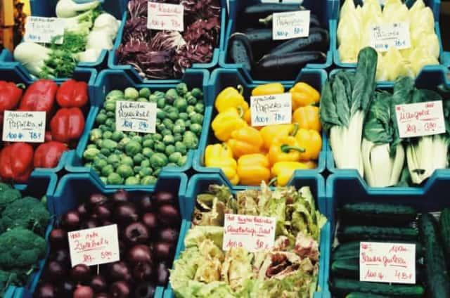 さまざまな品種の野菜