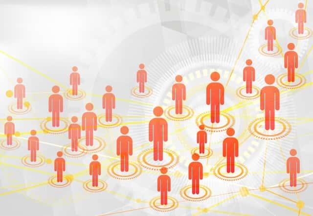 たくさんの人とのネットワーク
