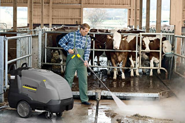 ケルヒャー業務用高圧洗浄機