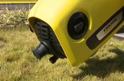 ケルヒャー高圧洗浄機の水抜き