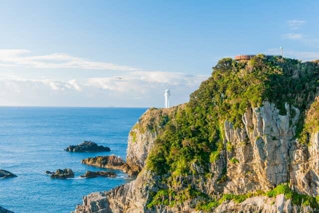 足摺岬の風景