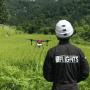FLIGHTS-AGによる水稲散布イメージ