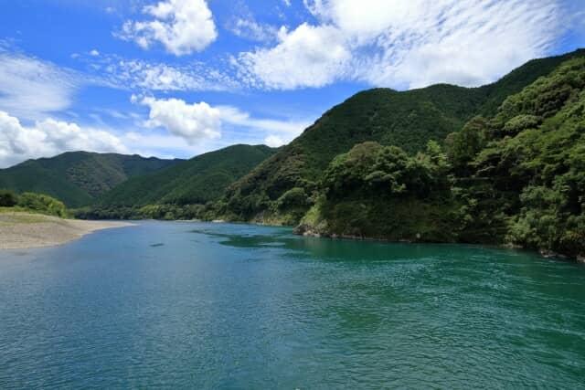 四万十川のある風景
