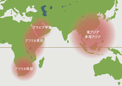原産地地図