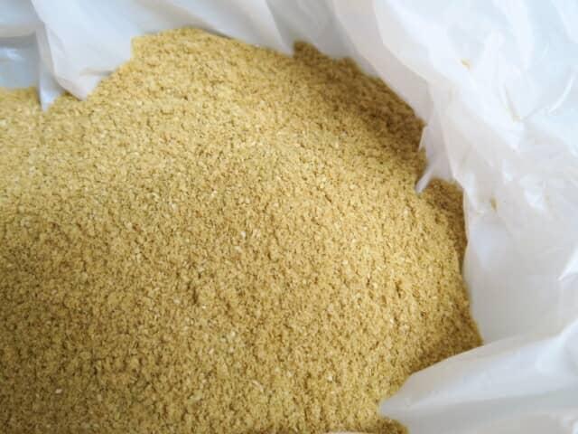 袋に入った米ぬか