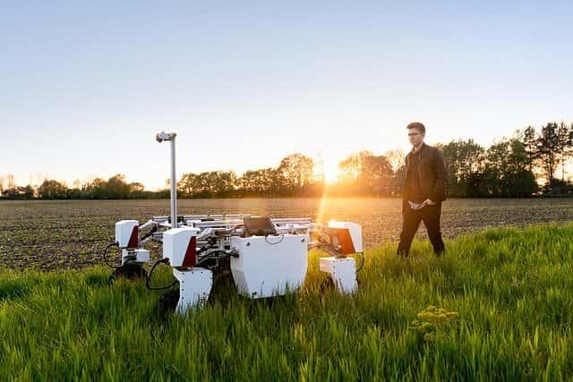 農業ロボット