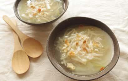 みかんの皮 スープ