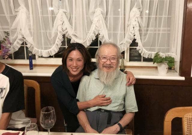 大津さんとお父さん