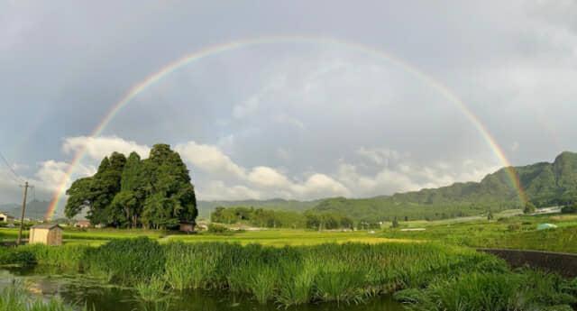 南阿蘇の虹