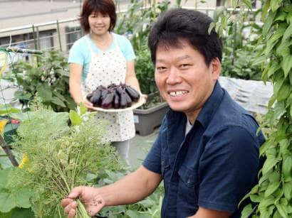 プランター野菜栽培家安藤康夫さん