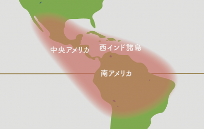 リプサリス 原産地地図