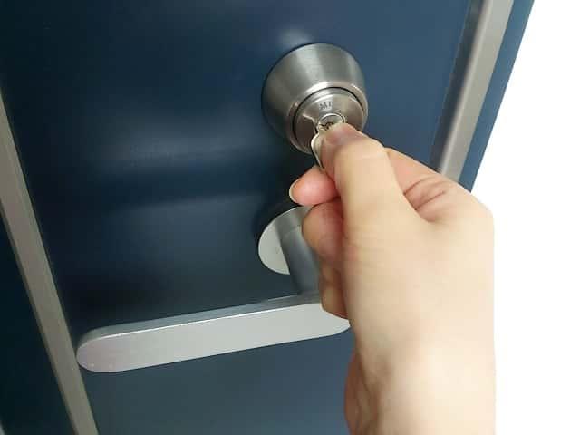 鍵をあける