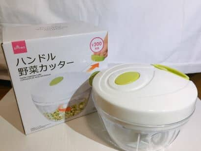 ダイソーハンドル野菜カッター