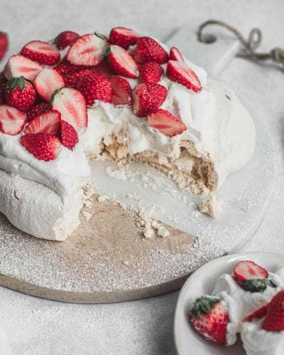 イチゴののったケーキ