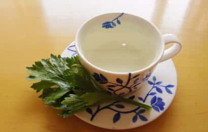 セロリの葉茶