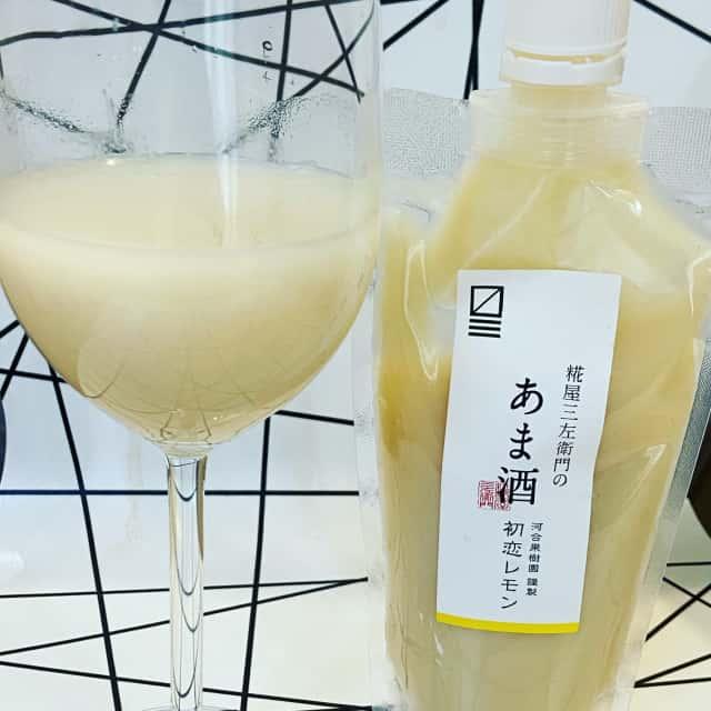 初恋レモンの甘酒