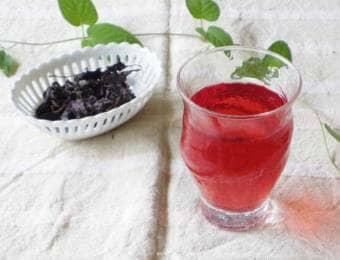 赤紫蘇としそジュース