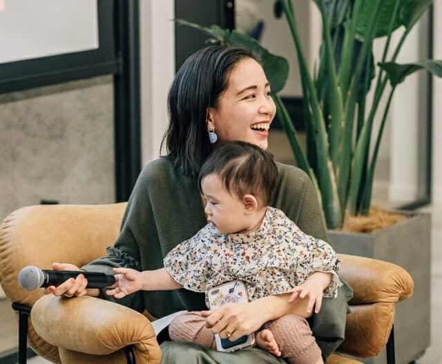 林さんと子ども