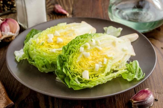 流行のサラダ