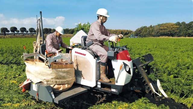 にんじん収穫機を発売