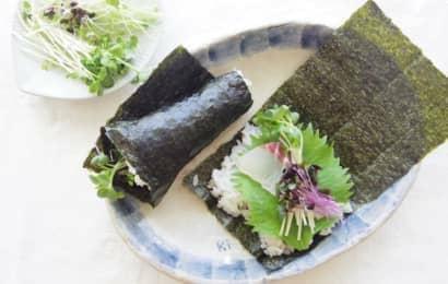 スプラウト 手巻き寿司
