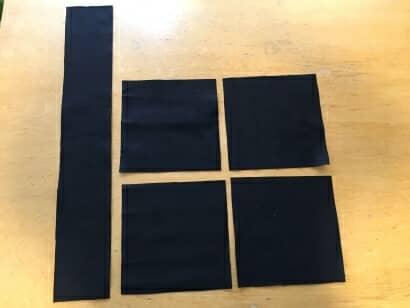 100均の材料を使って布製プランターをDIY