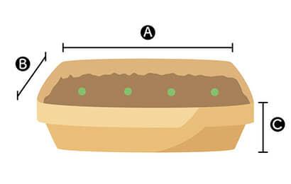 長方形プランター