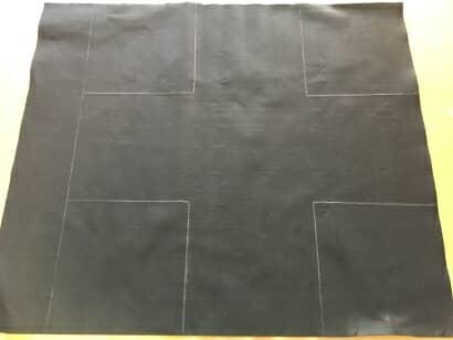 100均の材料を使って布製プランターをDIY!