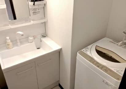 洗面所や洗濯場の収納アイデア